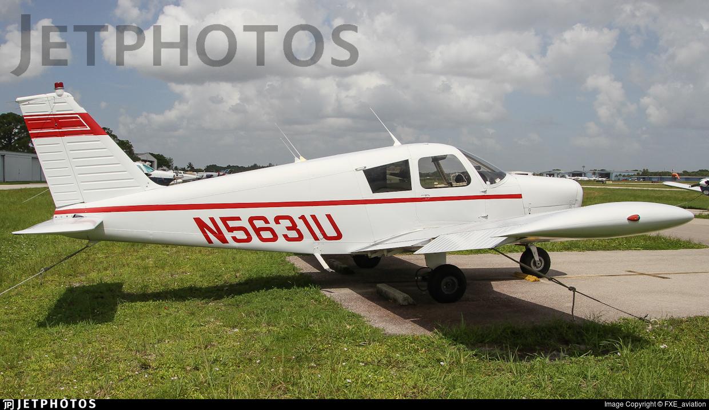N5631U - Piper PA-28-140 Cherokee - Private