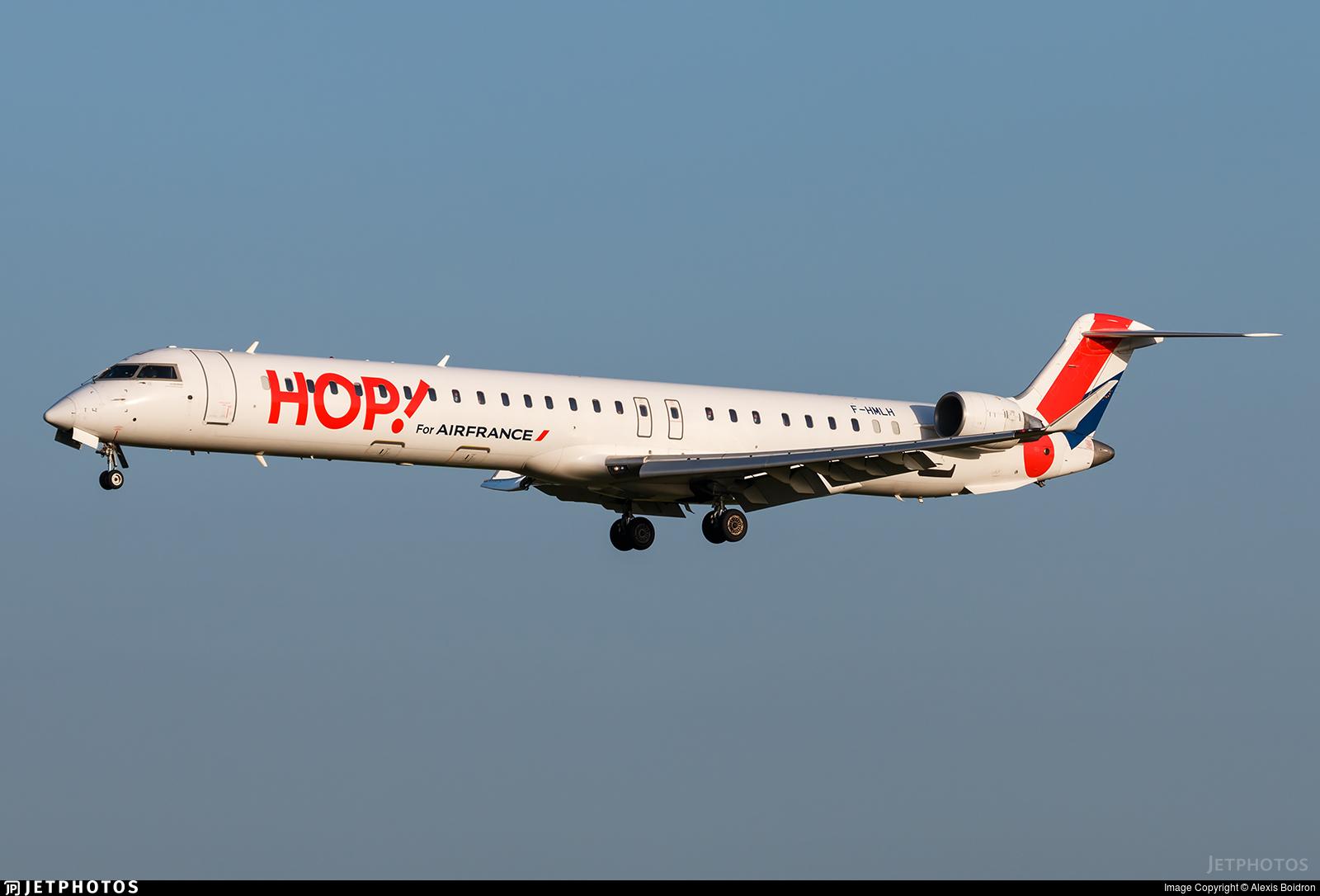 F-HMLH - Bombardier CRJ-1000EL - HOP! for Air France
