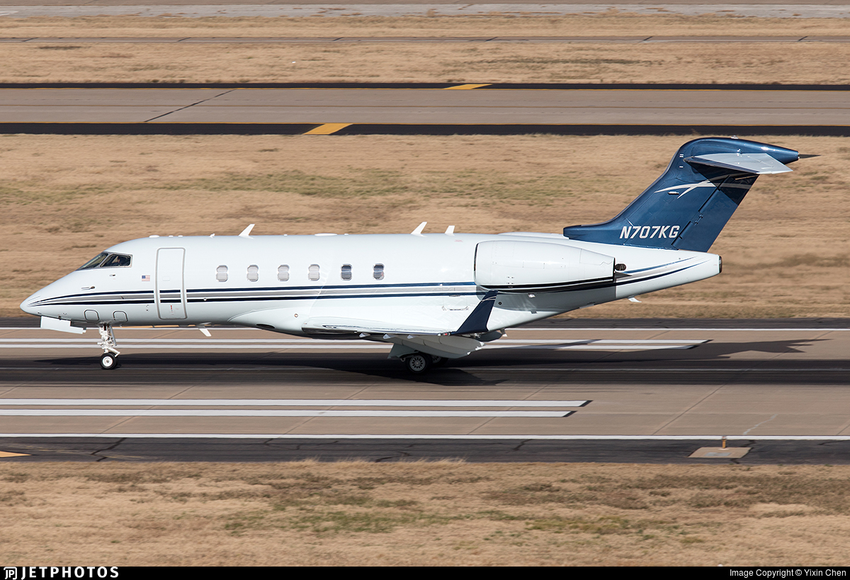 N707KG - Bombardier BD-100-1A10 Challenger 300 - Private