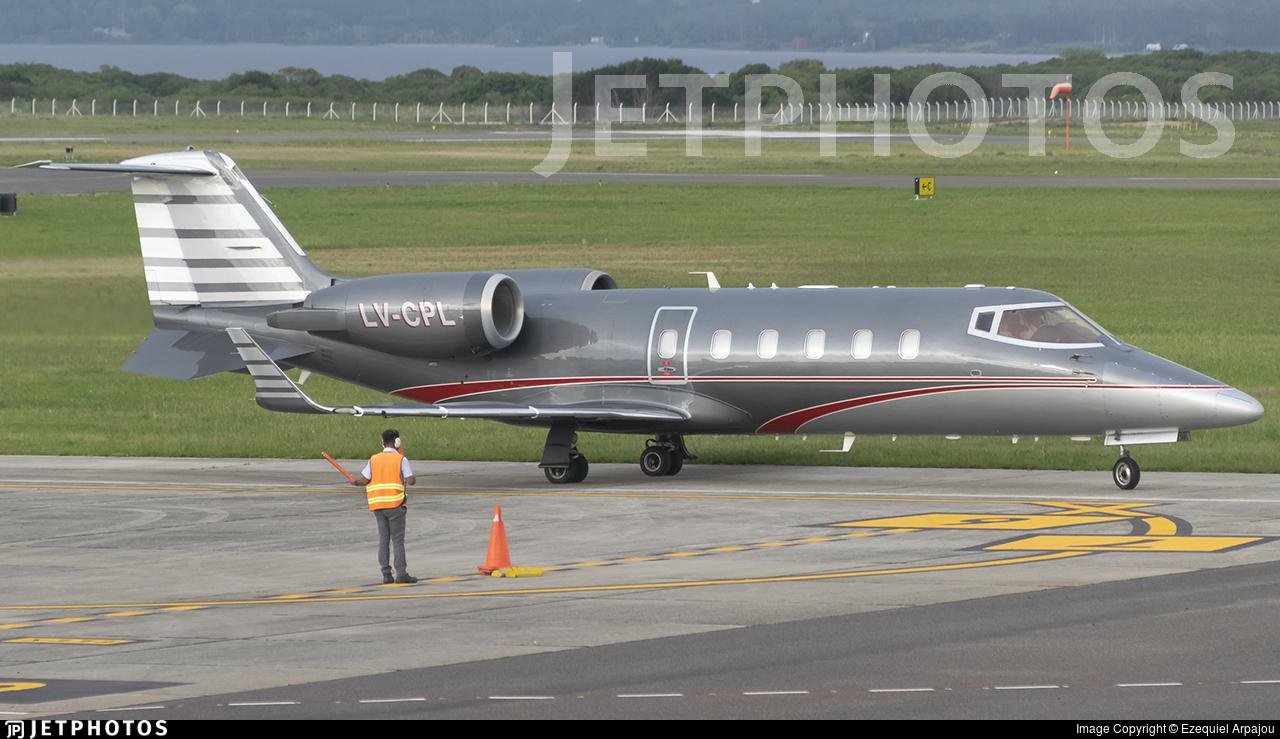 LV-CPL - Bombardier Learjet 60 - Baires Fly