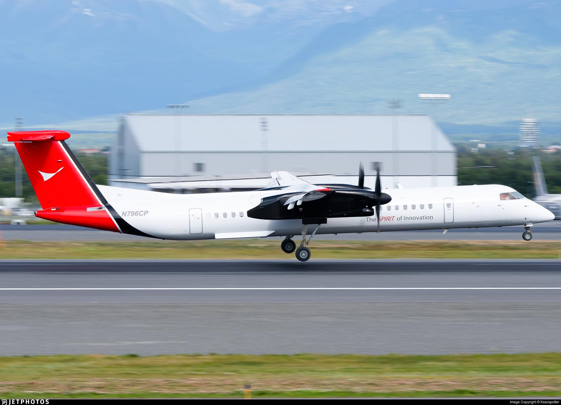 N796CP - Bombardier Dash 8-Q402 - ConocoPhillips Aviation