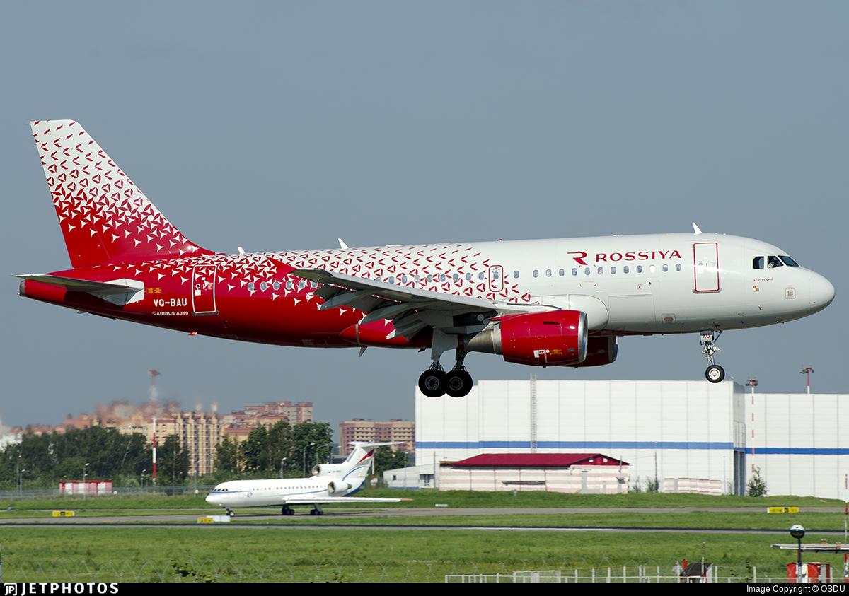 VQ-BAU - Airbus A319-112 - Rossiya Airlines