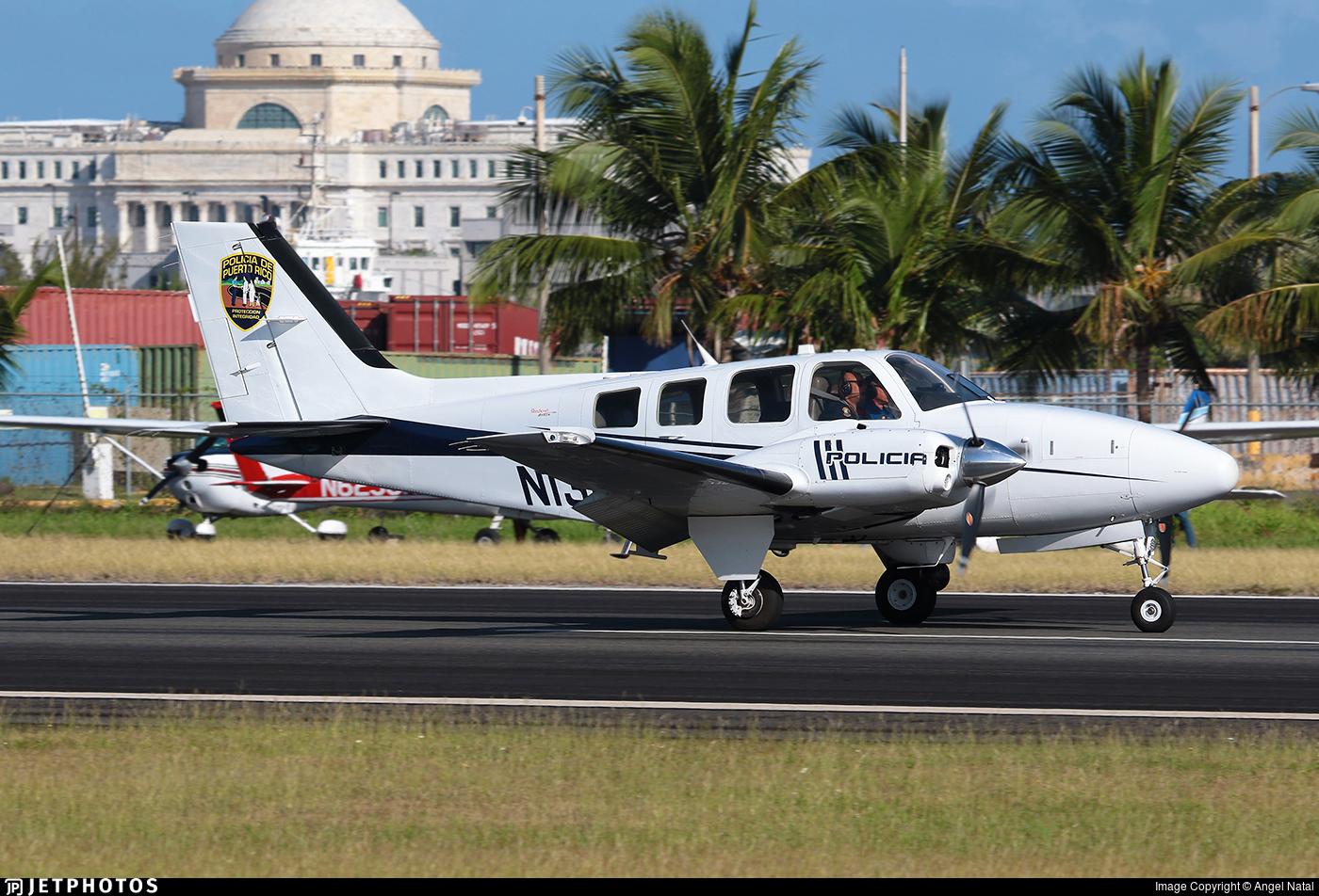 N130PR - Beechcraft G58 Baron - Puerto Rico - Police