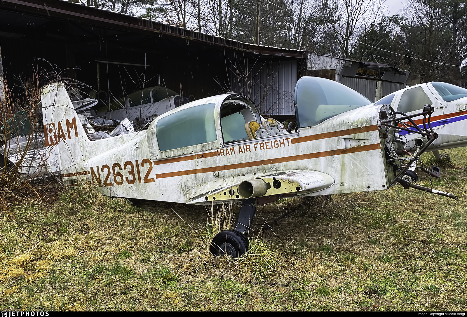 N26312 - Grumman American AA-5A Cheetah - Ram Air Freight