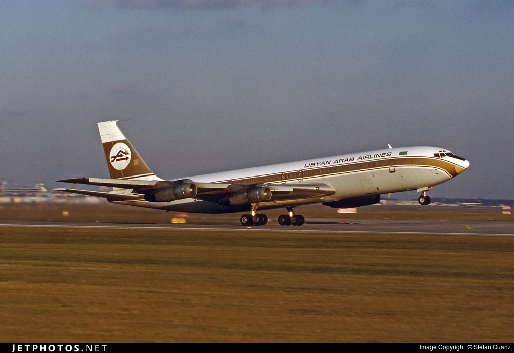 Boeing 707, 727 Photos |Libyan Airlines Cargo Boeing 707