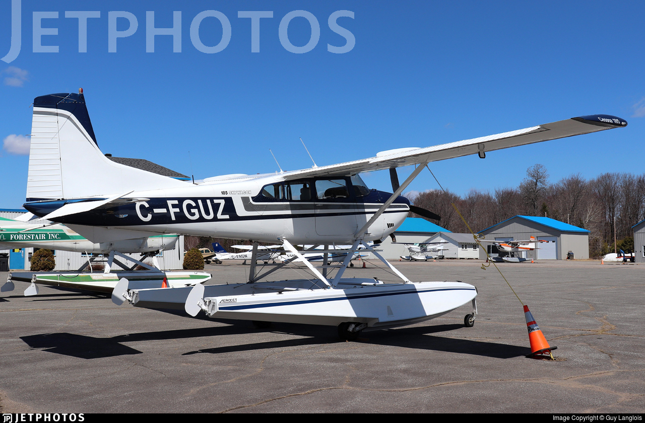 C-FGUZ - Cessna A185F Skywagon - Private