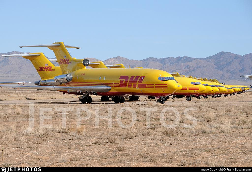 N793DH - Boeing 727-247(Adv)(F) - DHL (ASTAR Air Cargo)