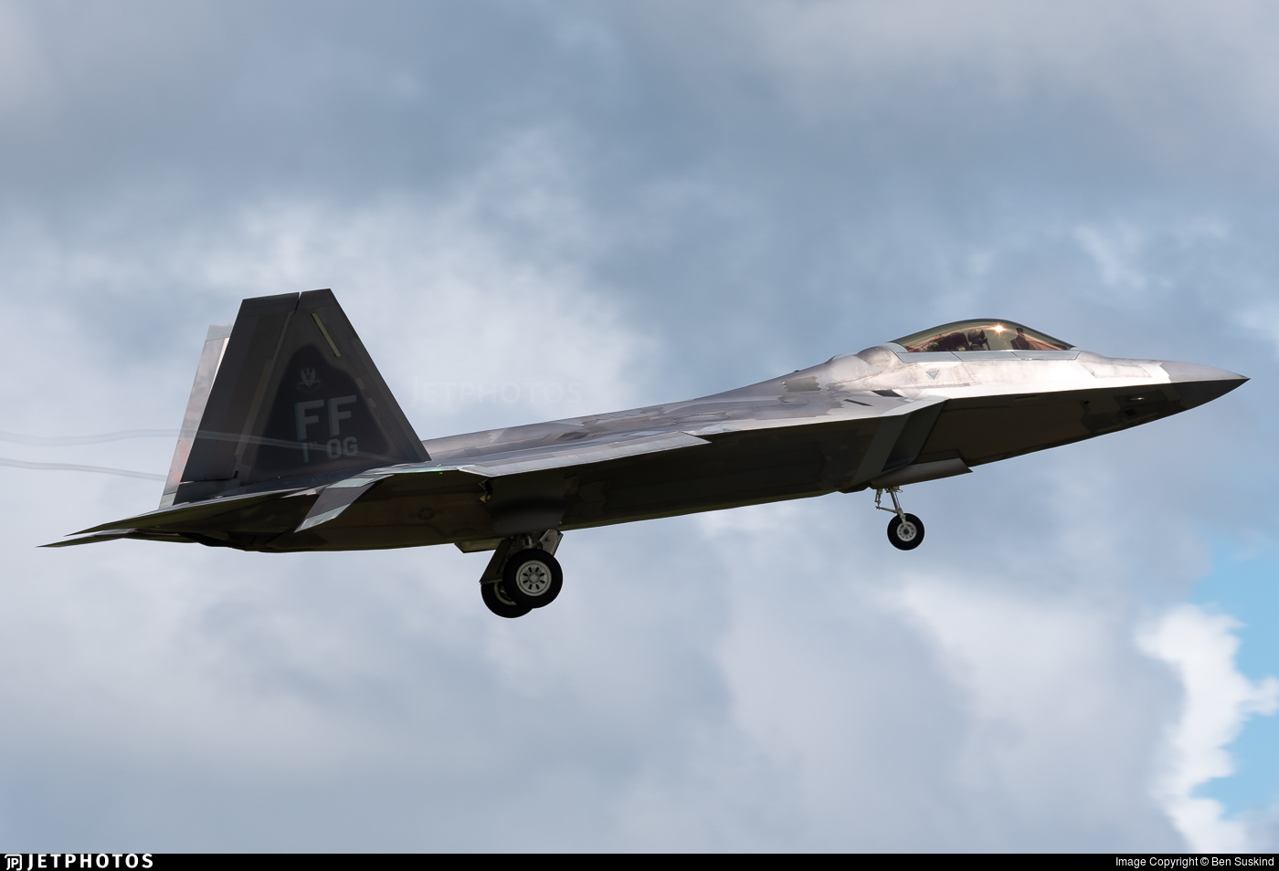 09-4185 - Lockheed Martin F-22A Raptor - United States - US Air Force (USAF)