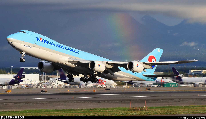 HL7624 - Boeing 747-8B5F - Korean Air Cargo