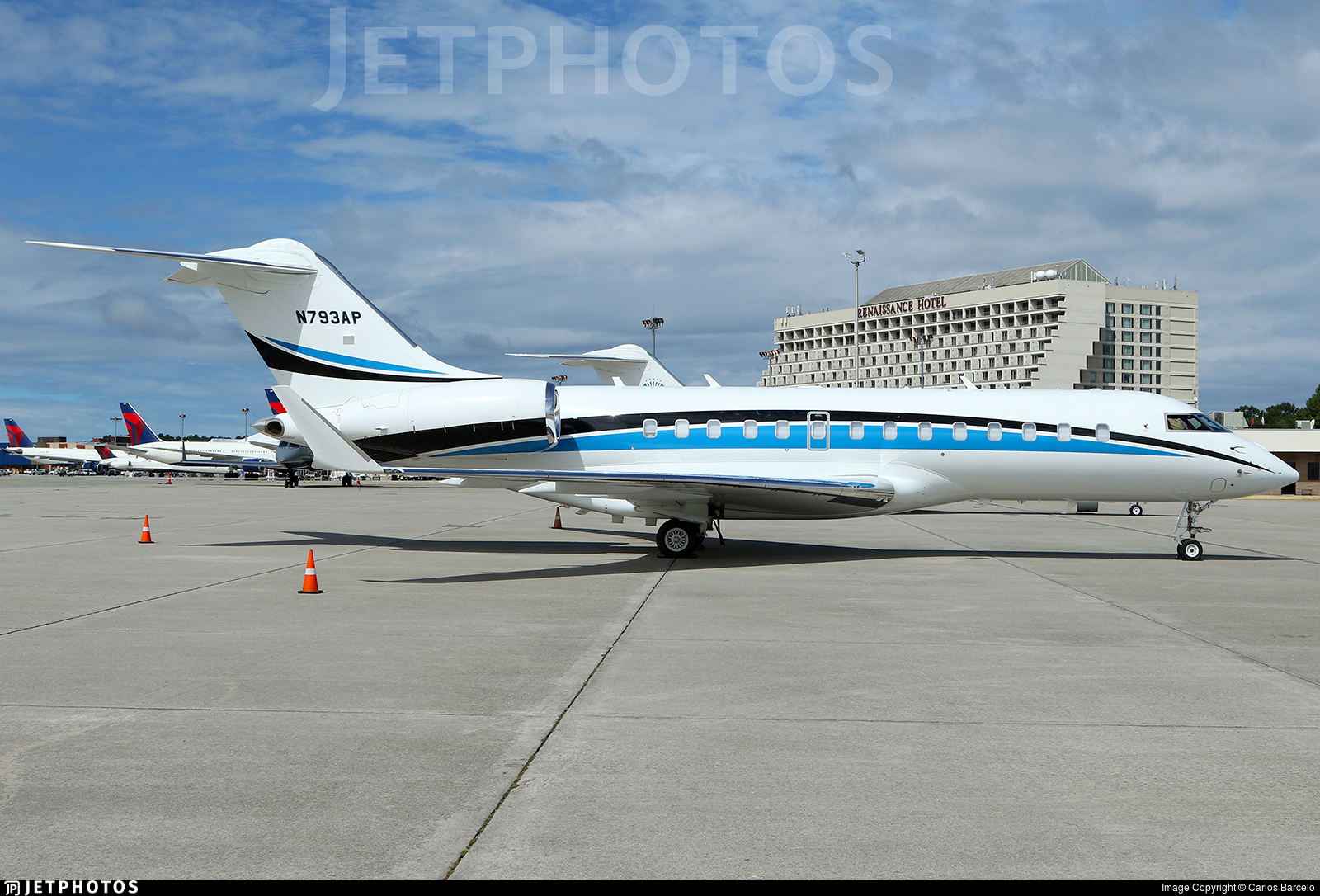 N793AP - Bombardier BD-700-1A11 Global 5000 - Private