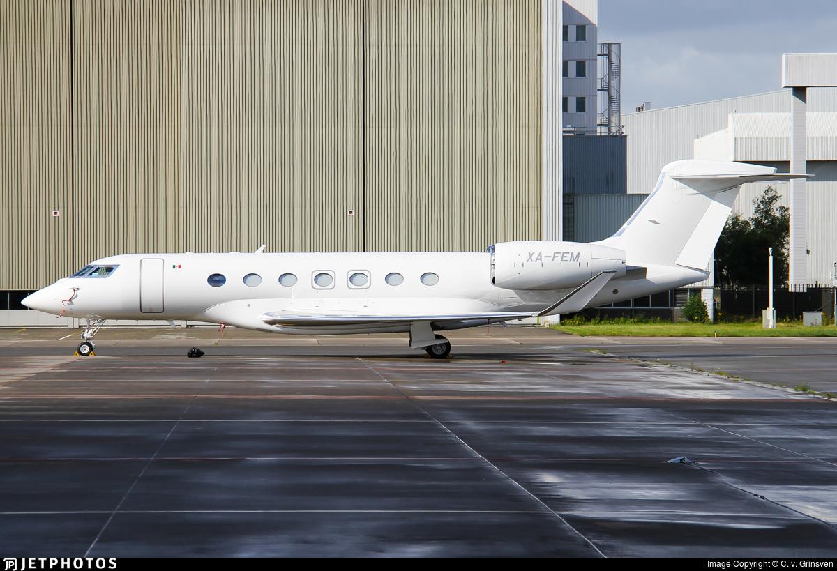 XA-FEM - Gulfstream G600 - Private