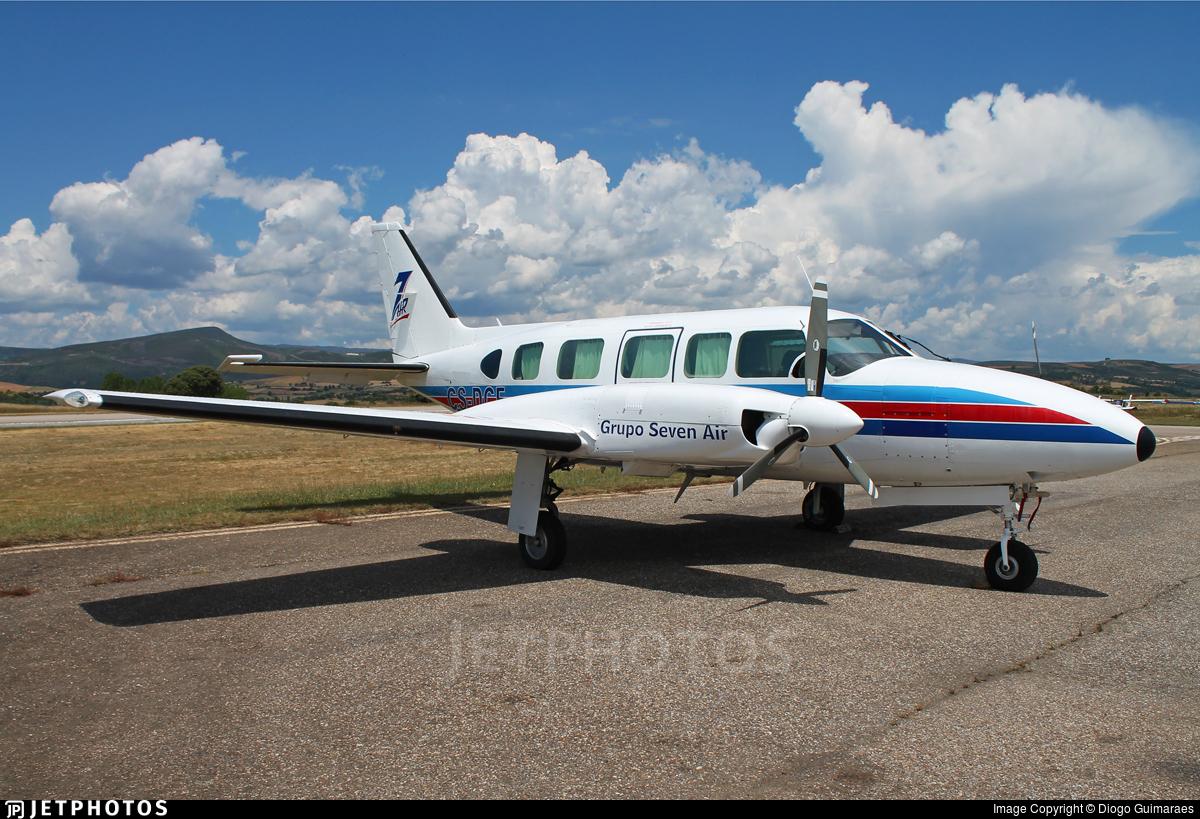 CS-DCF - Piper PA-31-350 Chieftain - Grupo 7 Air