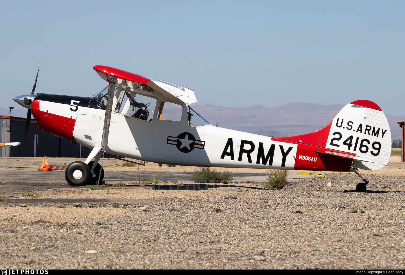 N305AD - Cessna 305A Bird Dog - Private