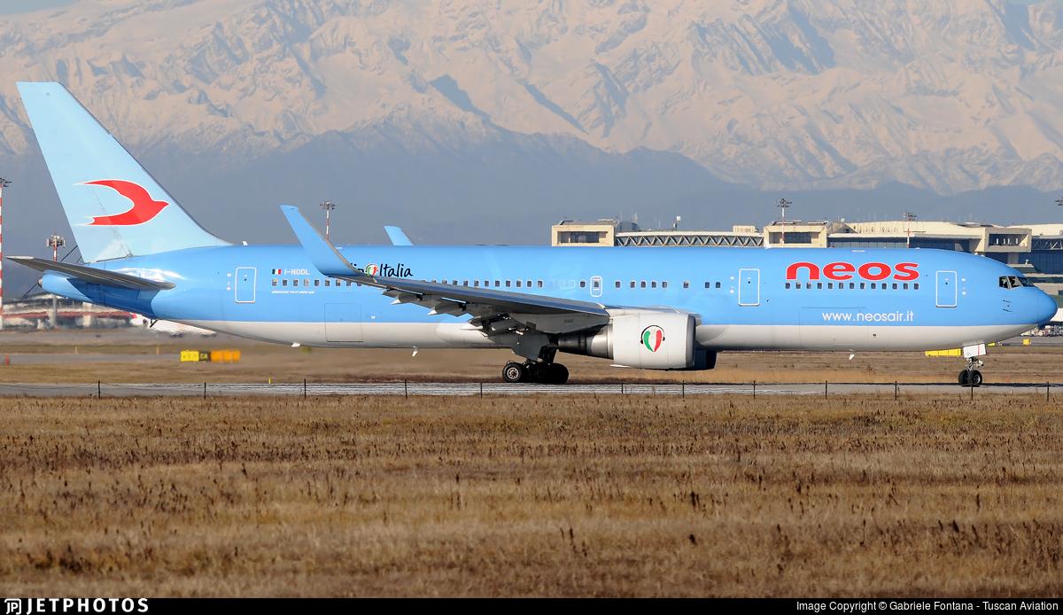 I-NDDL - Boeing 767-324(ER) - Neos
