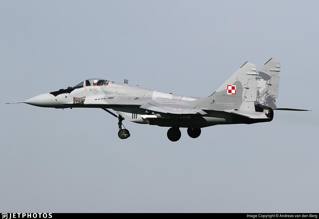 111 - Mikoyan-Gurevich MiG-29A Fulcrum A - Poland - Air Force