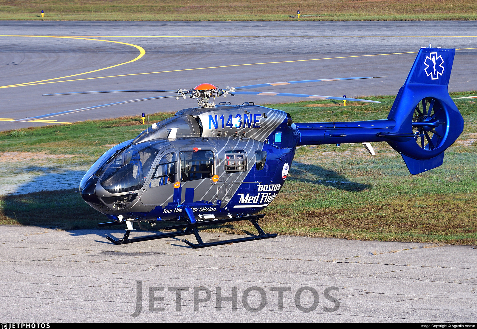 N143NE - Airbus Helicopters H145 - New England Life Flight