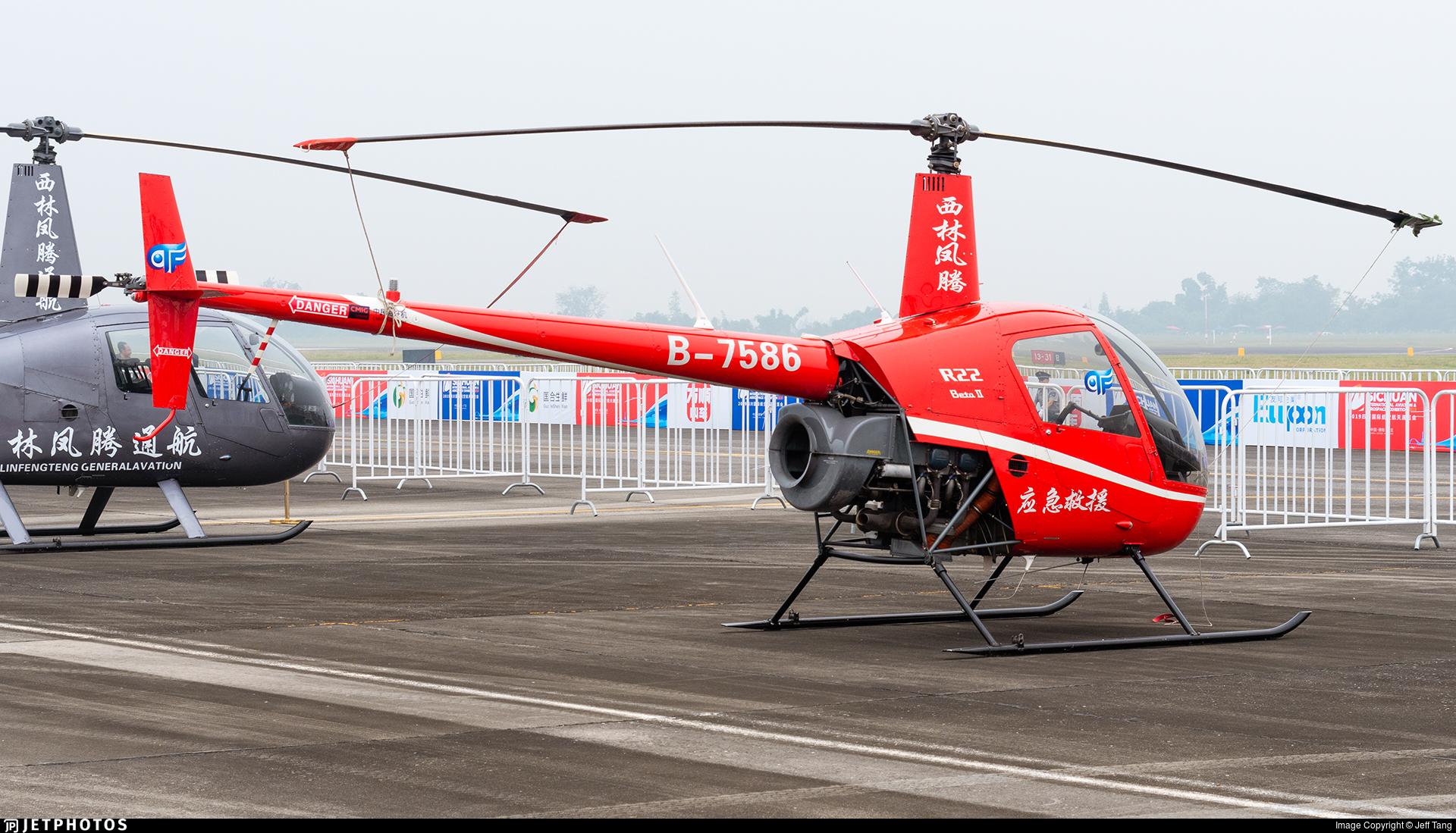 B-7586 - Robinson R22 Beta II - Sichuan Xiling Fengteng General Aviation