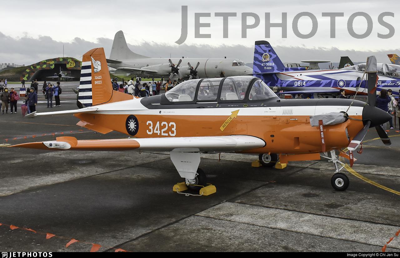 3423 - Beechcraft T-34C Turbo Mentor - Taiwan - Air Force