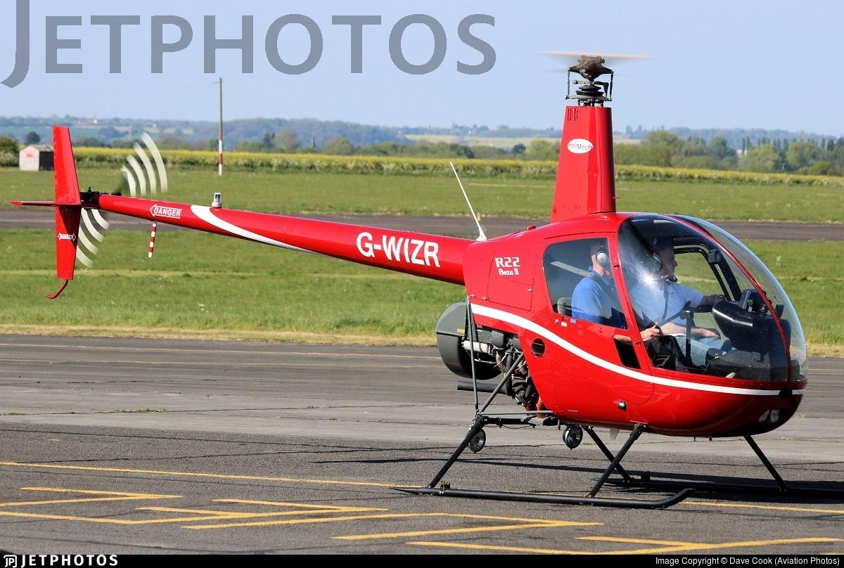 G-WIZR - Robinson R22 Beta II - Private