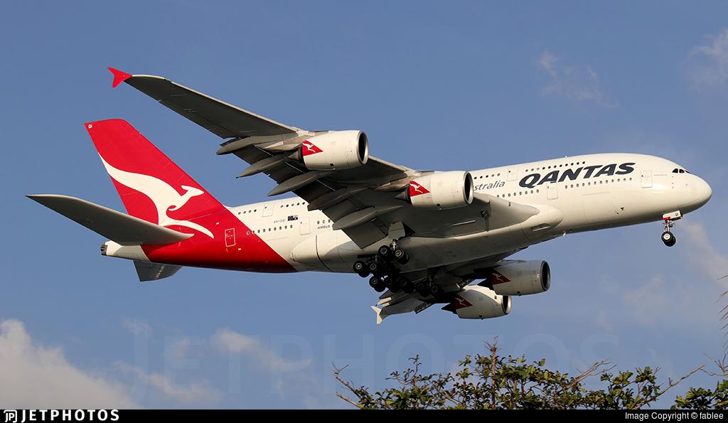 VH-OQI - Airbus A380-842 - Qantas