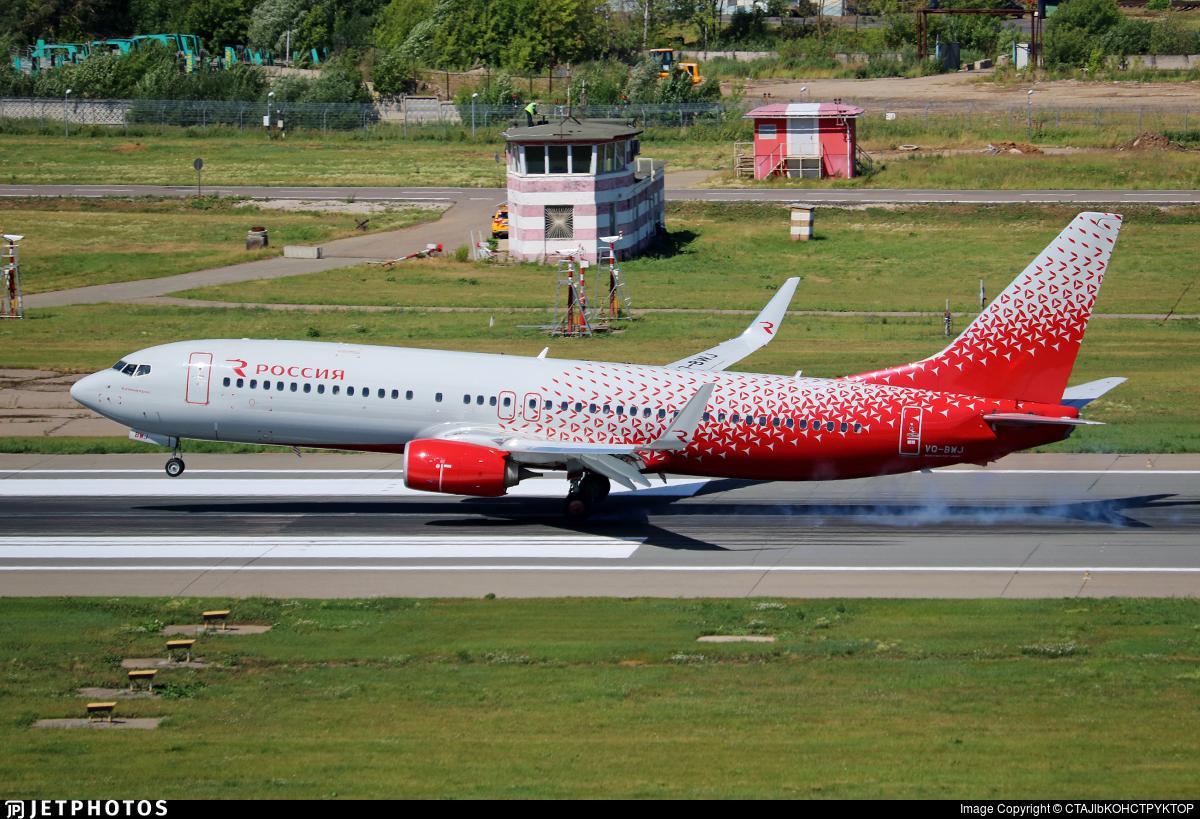 VQ-BWJ - Boeing 737-8LJ - Rossiya Airlines