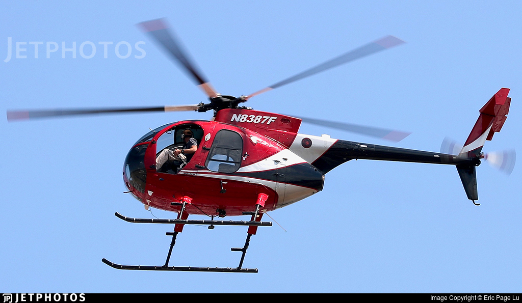 N8387F - McDonnell Douglas MD-500 - Private
