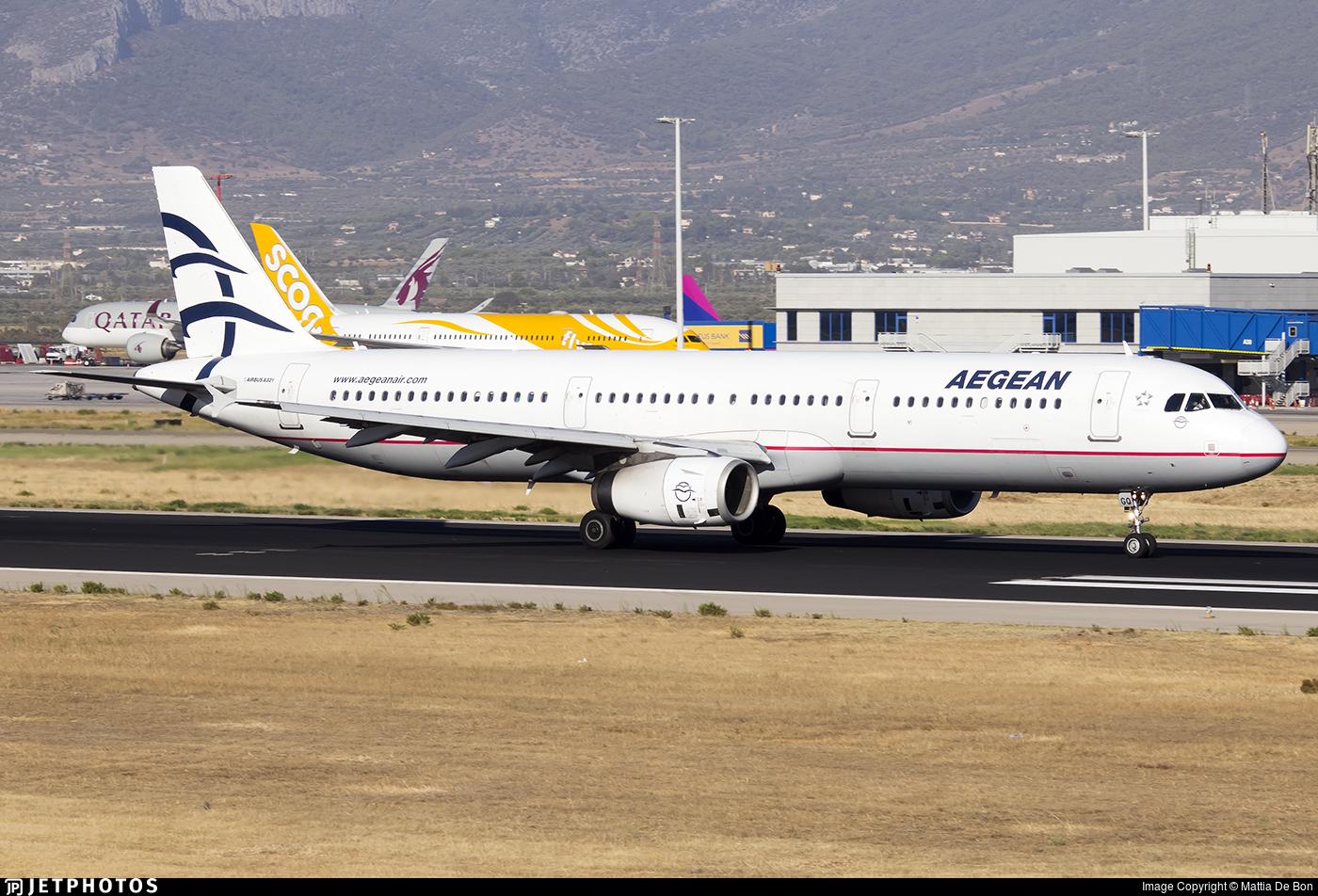 SX-DGQ - Airbus A321-231 - Aegean Airlines