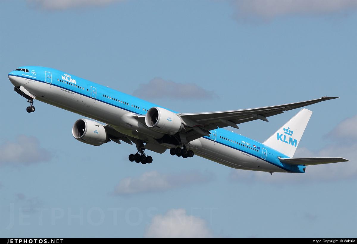 PH-BVI - Boeing 777-306ER - KLM Royal Dutch Airlines
