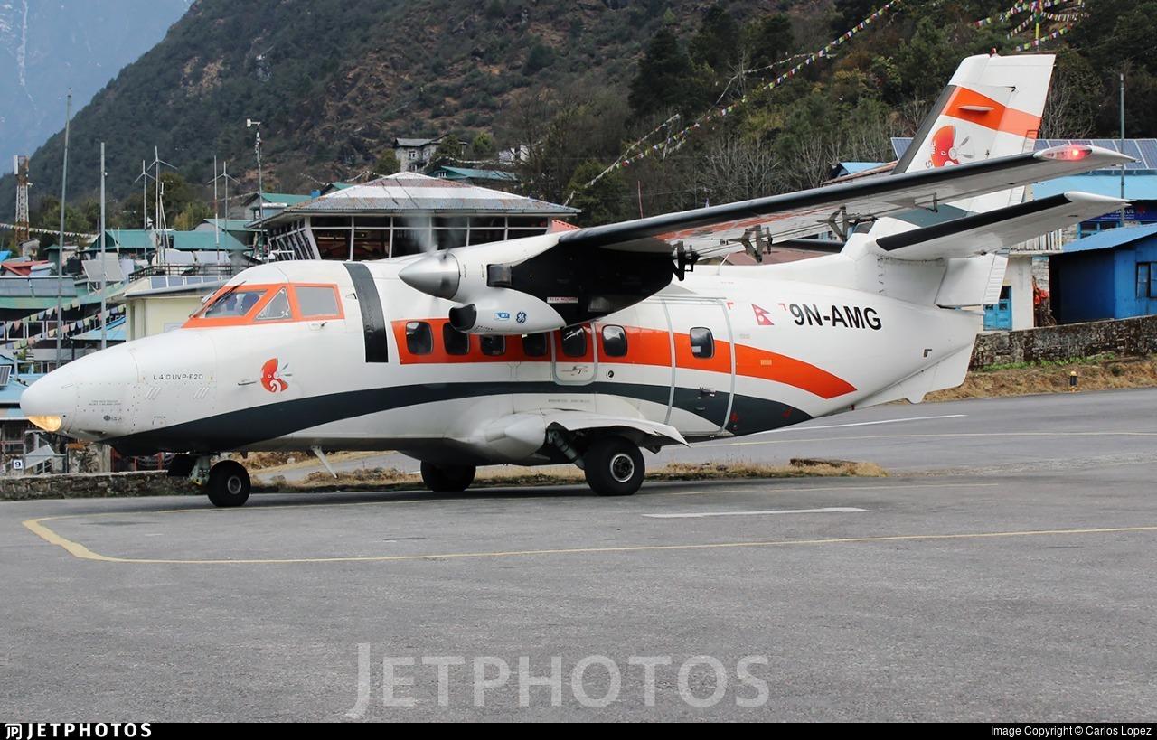 9N-AMG - Let L-410UVP-E20 Turbolet - Summit Air (Nepal)