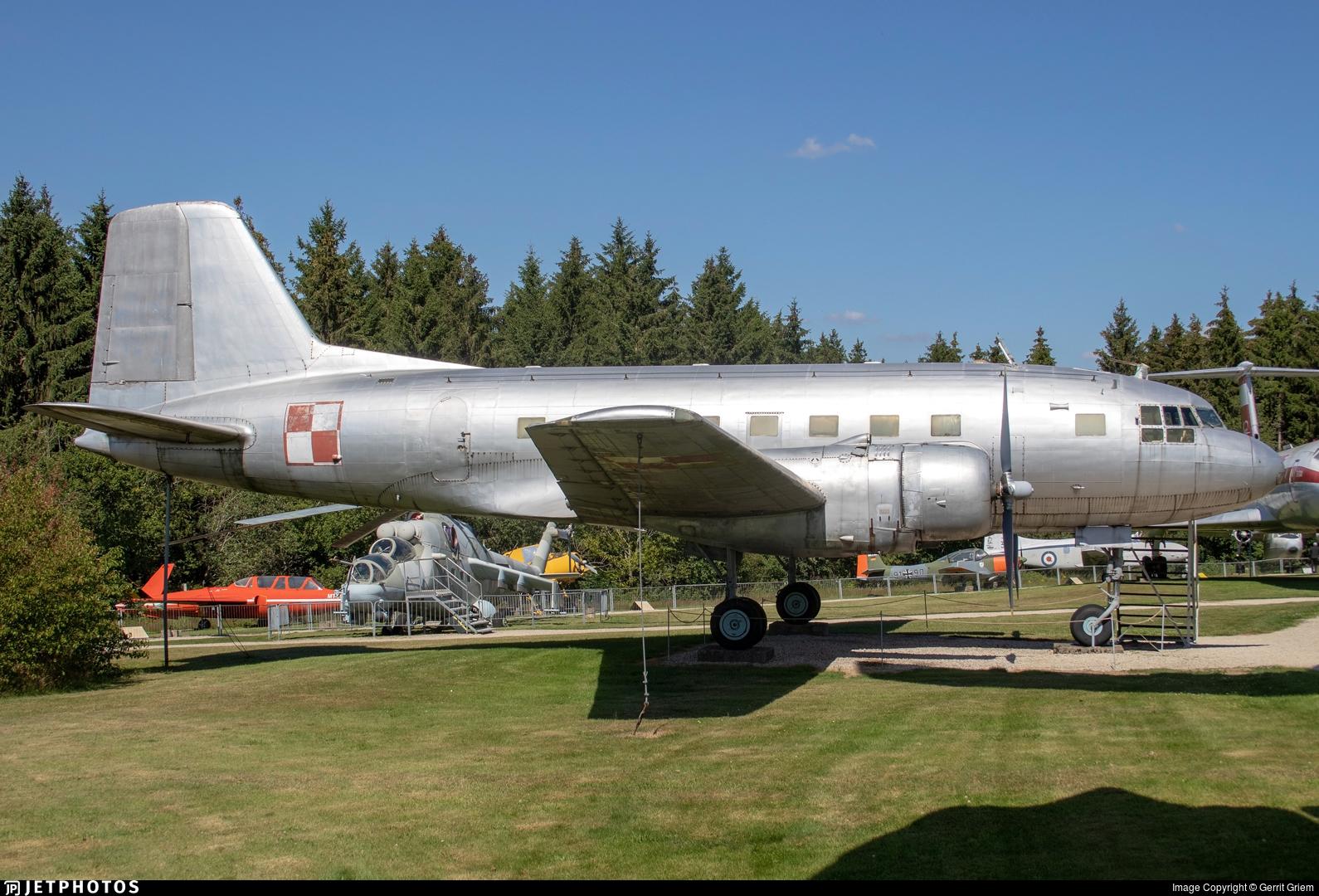 3076 - VEB Flugzeugbau IL-14P - Poland - Air Force