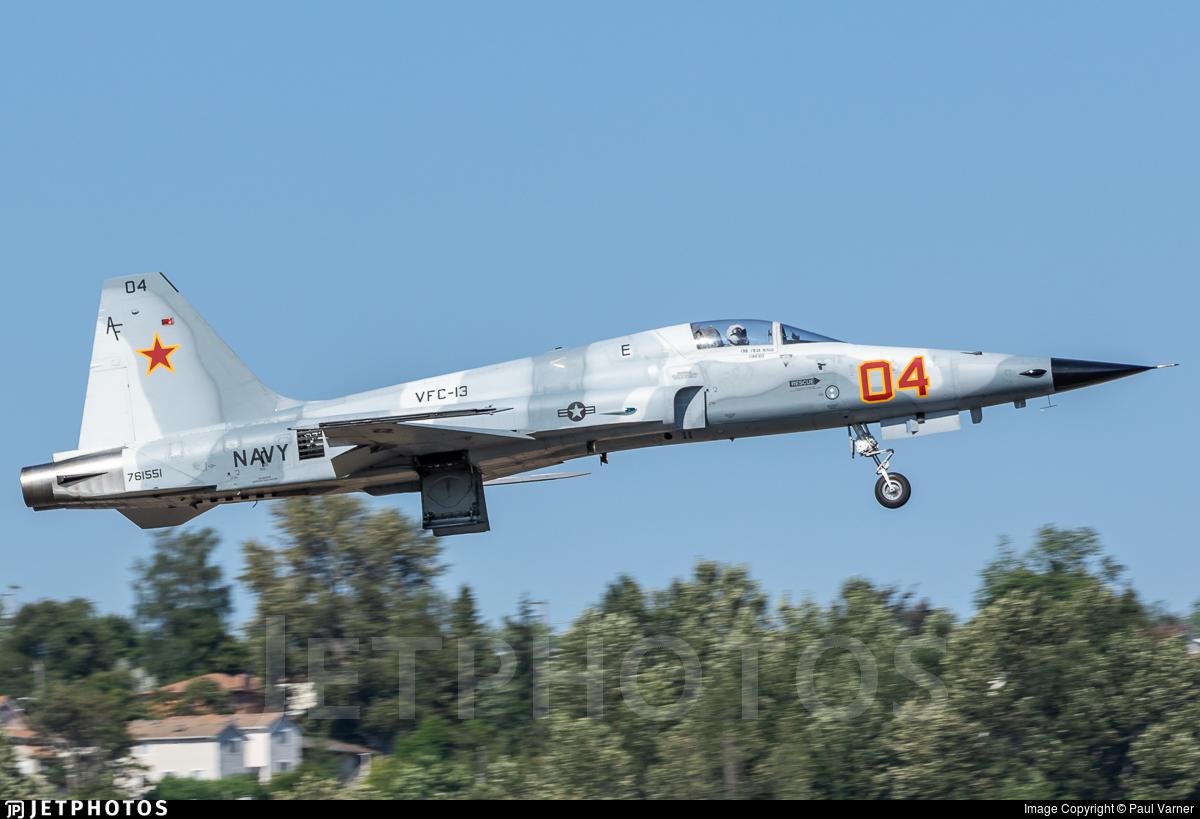 761551 - Northrop F-5N Tiger II - United States - US Navy (USN)