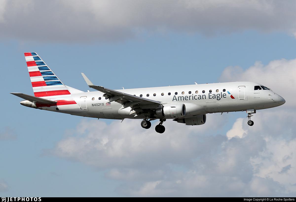 N402YX - Embraer 170-200LR - American Eagle (Republic Airways)