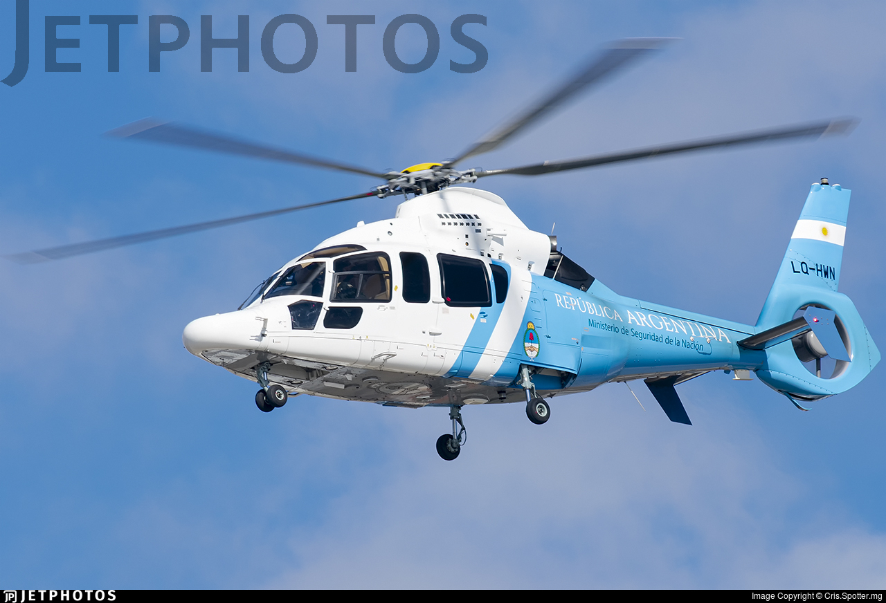 LQ-HWN - Airbus Helicopters H155 B1 Dauphin - Policía Federal Argentina