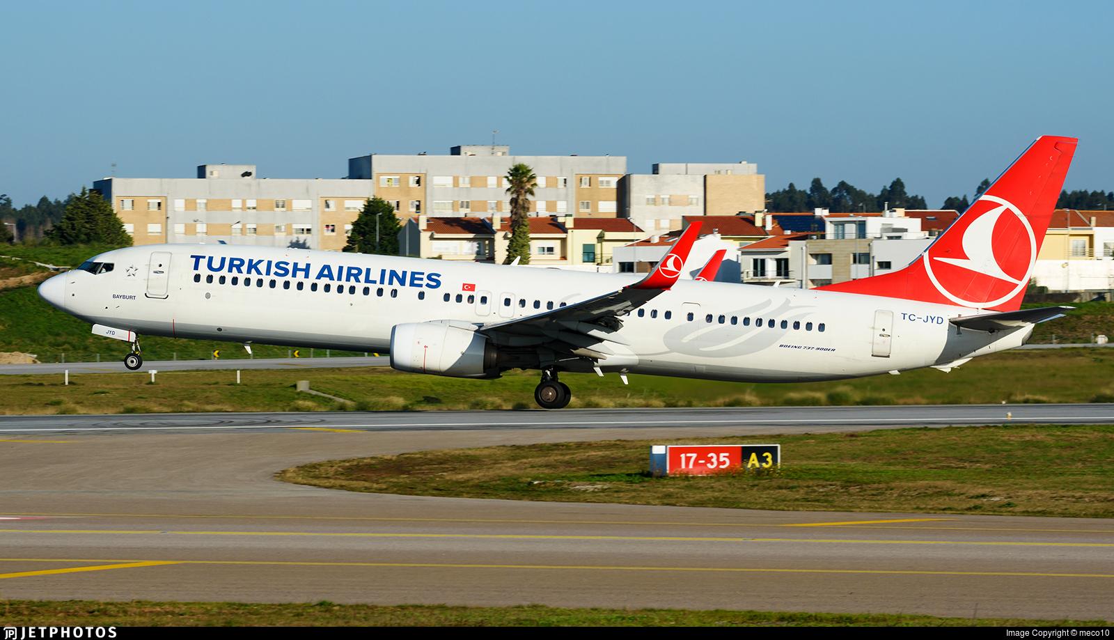TC-JYD - Boeing 737-9F2ER - Turkish Airlines