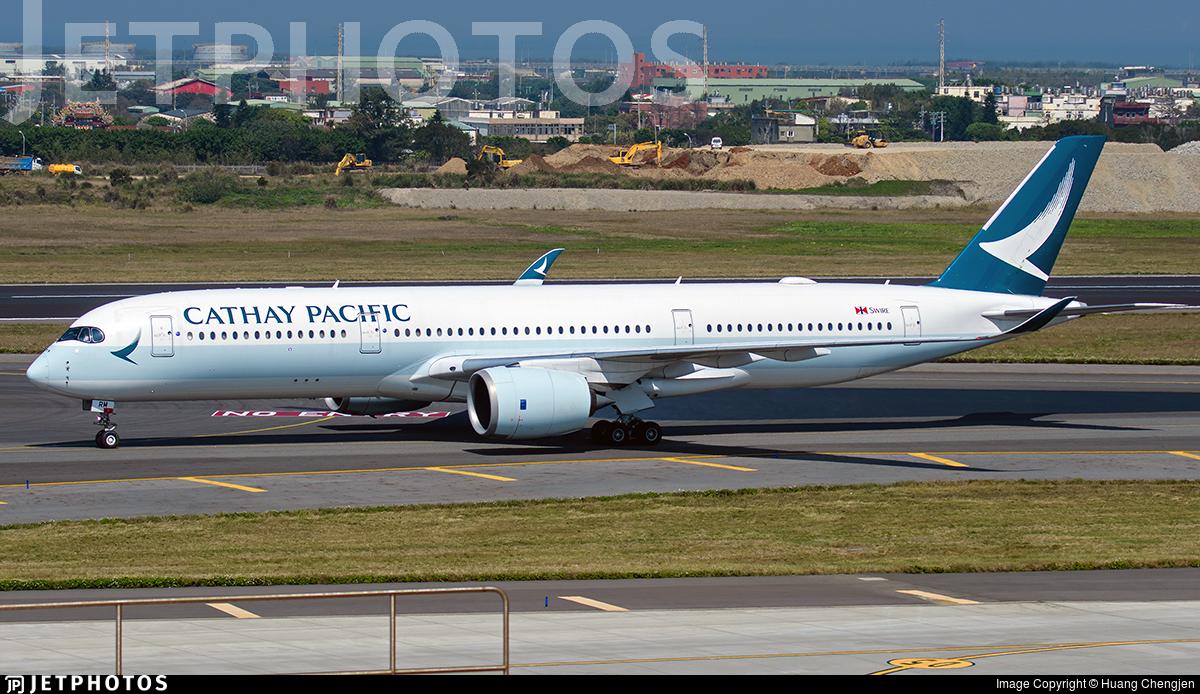 B-LRM - Airbus A350-941 - Cathay Pacific Airways