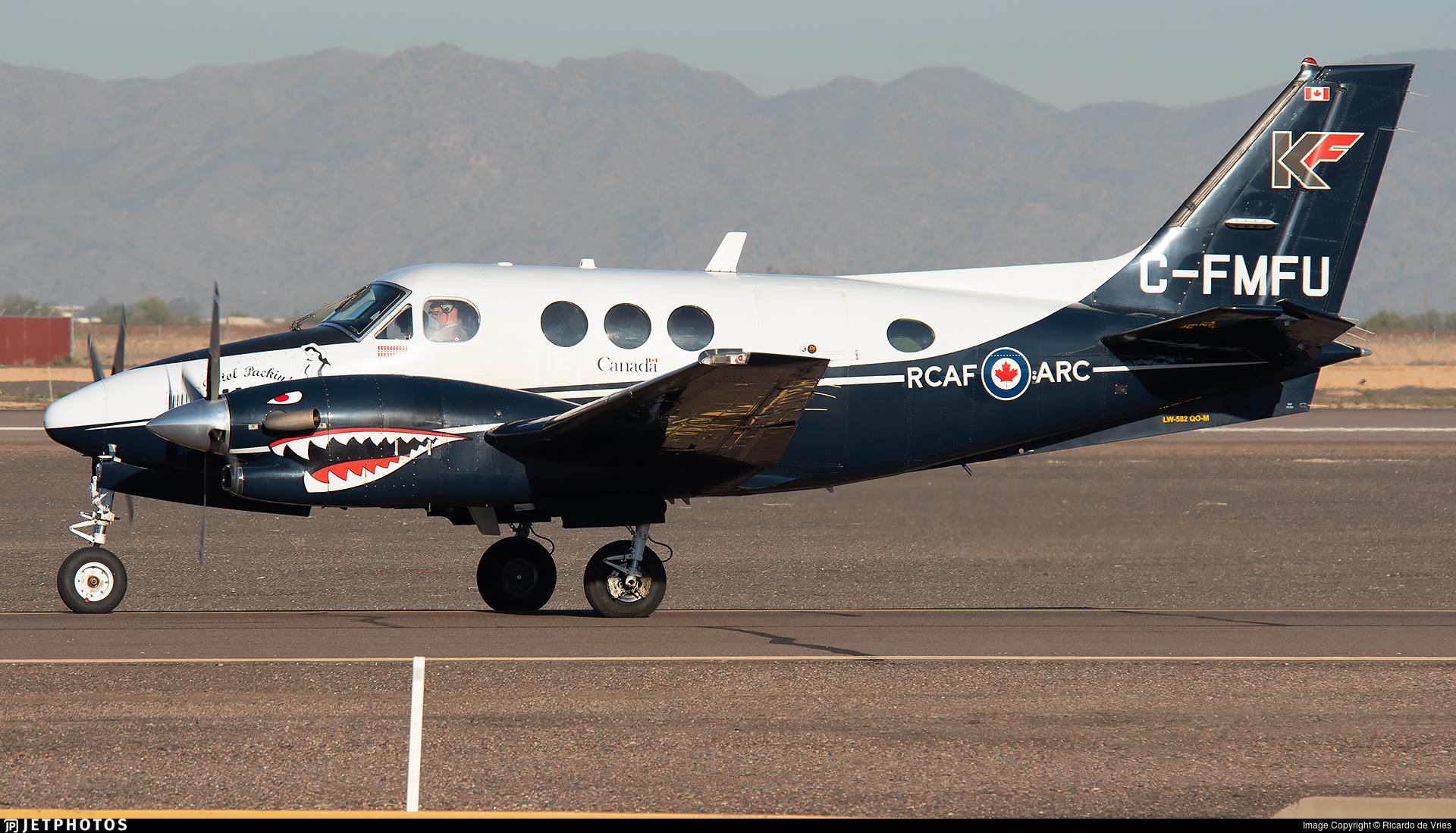 C-FMFU - Beechcraft C90A King Air - Allied Wings