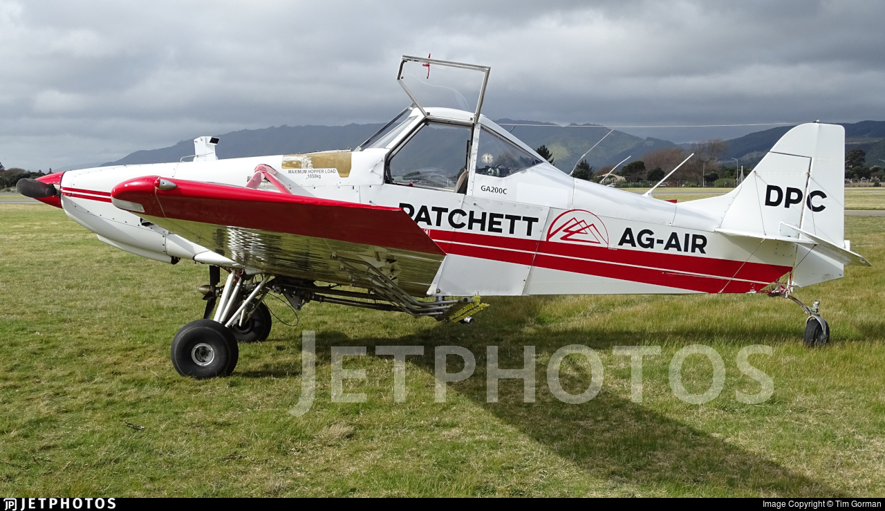 ZK-DPC - Gippsland GA-200 Fatman - Patchett Ag-Air