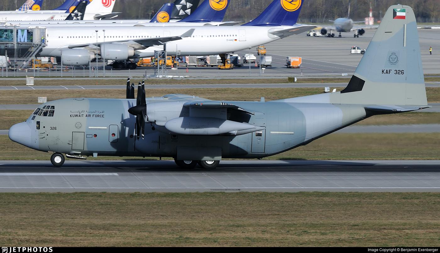 KAF326 - Lockheed Martin KC-130J Hercules - Kuwait - Air Force