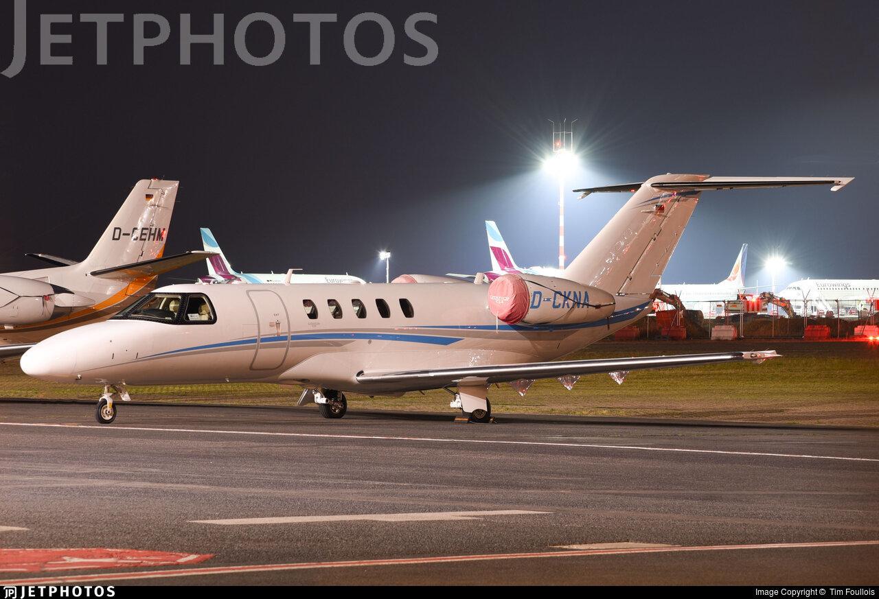 D-CKNA - Cessna 525C CitationJet 4 - Star Wings Dortmund