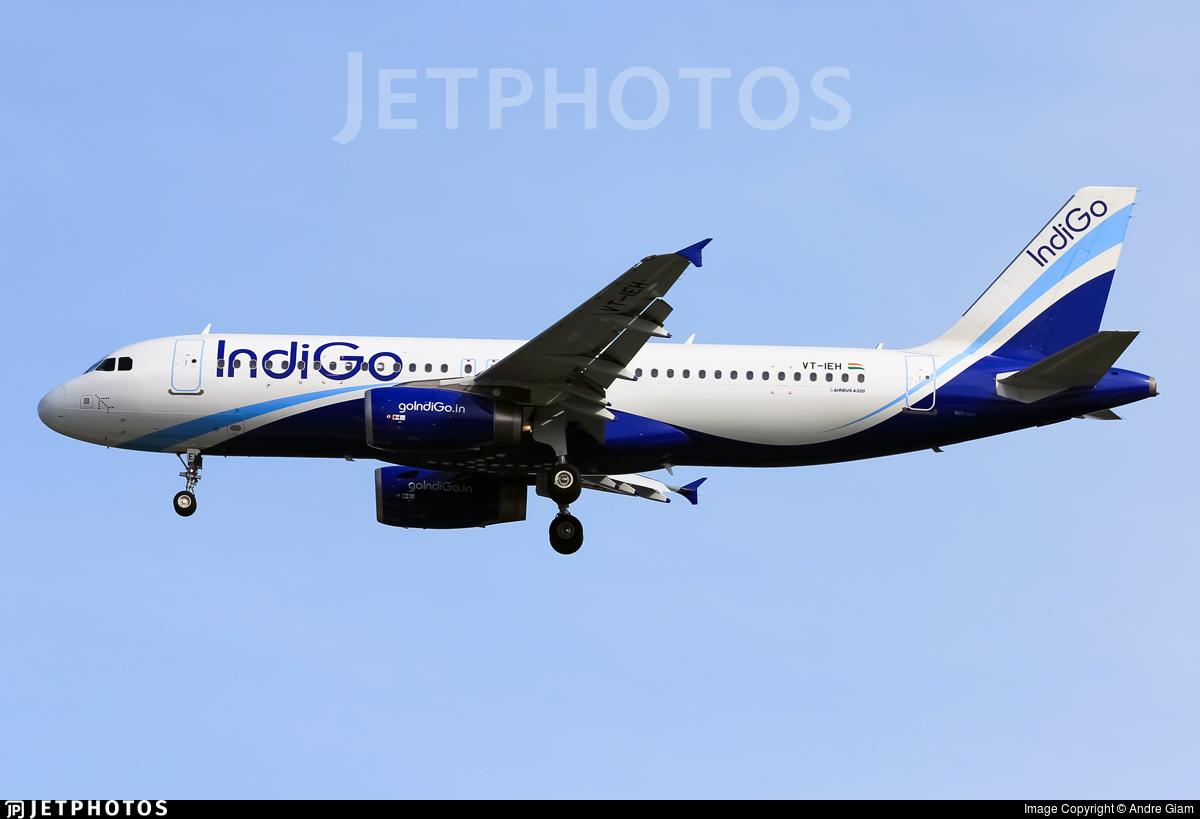 VT-IEH - Airbus A320-232 - IndiGo Airlines