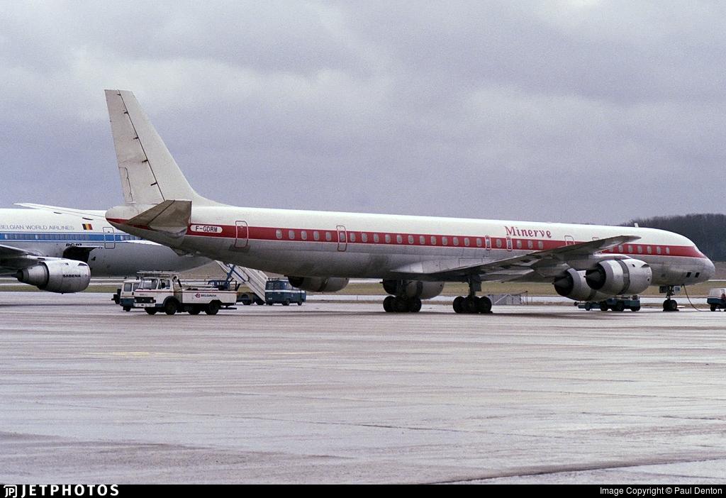 F-GDRM - DC-8-73(AF) - Minerve