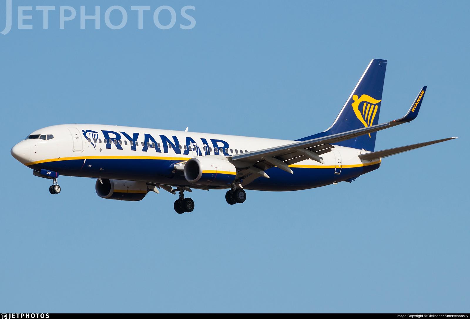 SP-RSF - Boeing 737-8AS - Ryanair Sun
