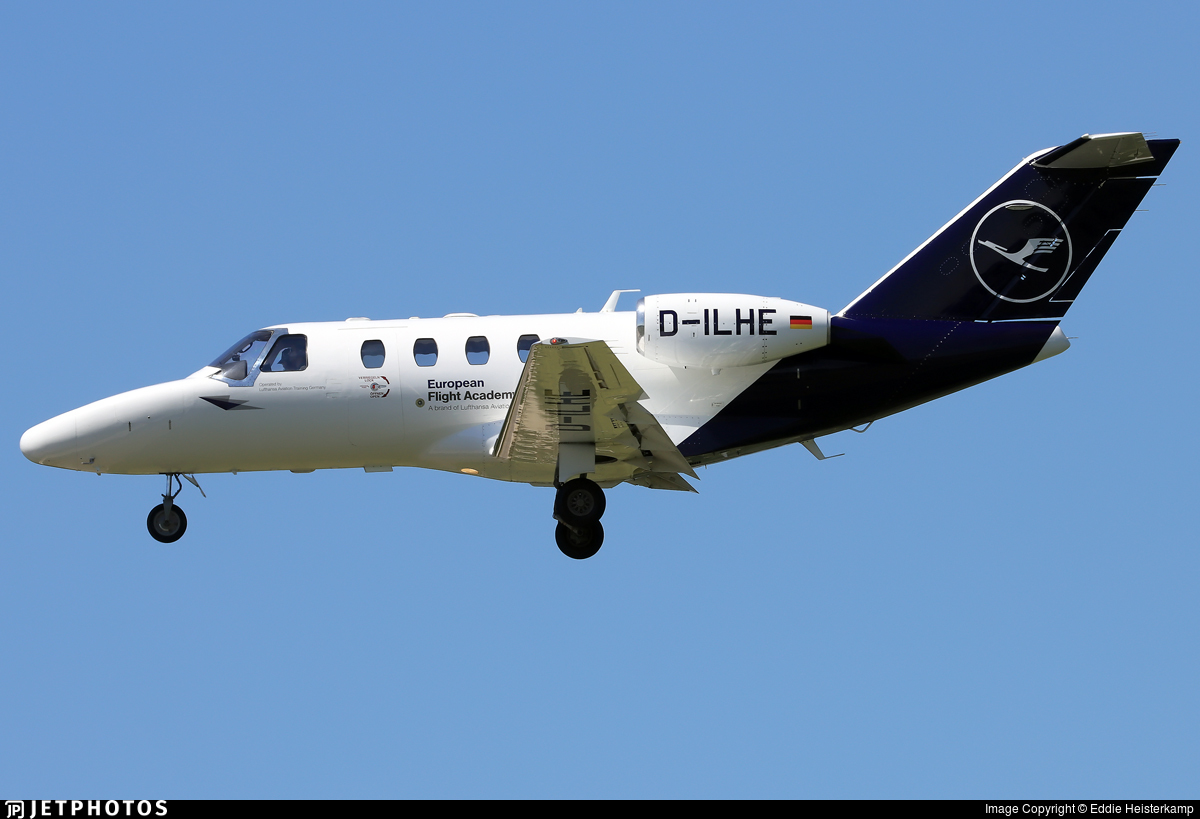 D-ILHE - Cessna 525 Citationjet CJ1+ - European Flight Academy