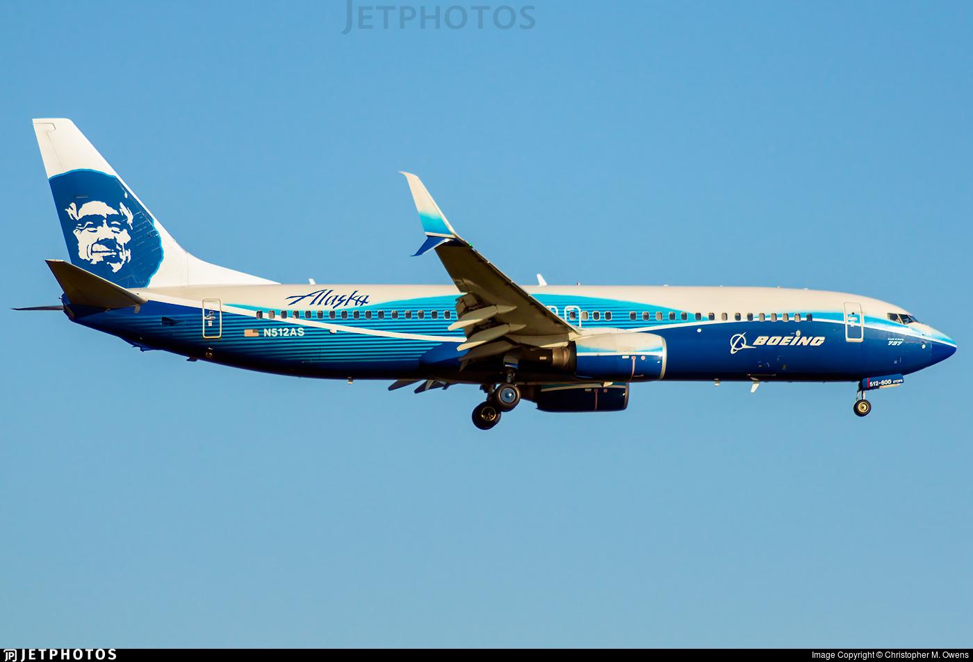 N512AS - Boeing 737-890 - Alaska Airlines