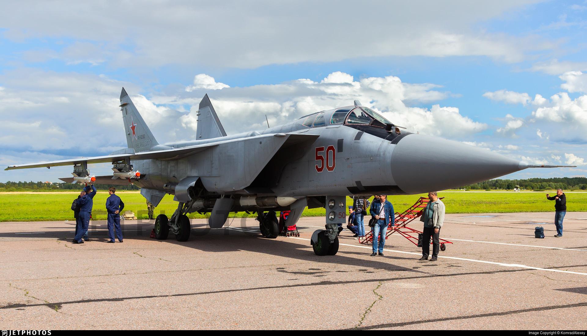 RF-92382 - Mikoyan-Gurevich MiG-31BM Foxhound - Russia - Air Force