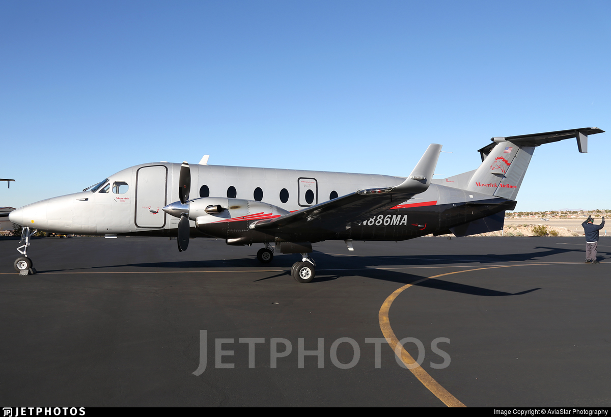 N886MA - Beech 1900D - Maverick Airlines