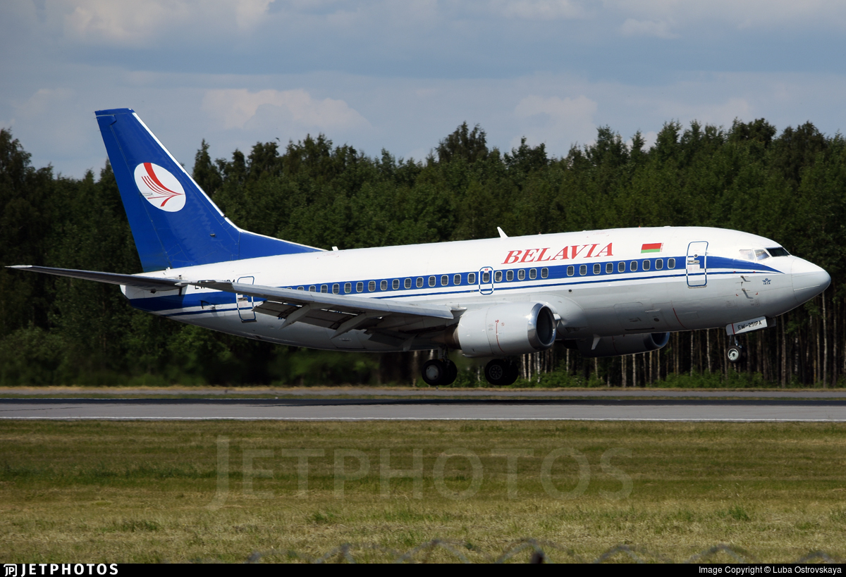 EW-251PA - Boeing 737-5Q8 - Belavia Belarusian Airlines