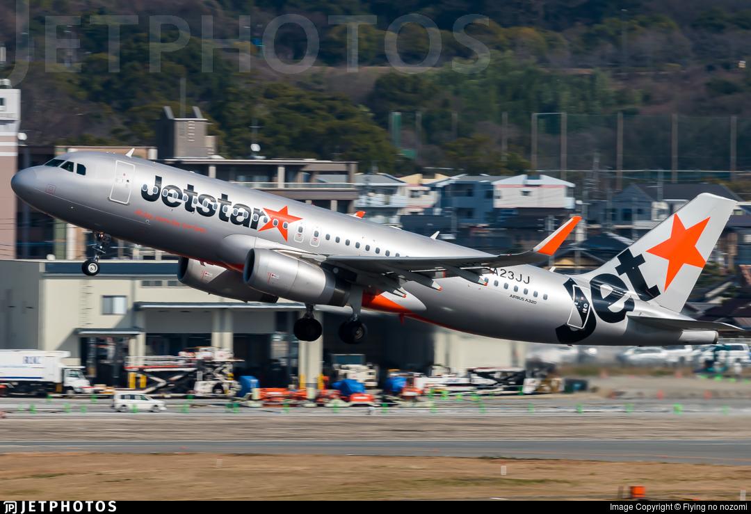 JA23JJ - Airbus A320-232 - Jetstar Japan Airlines