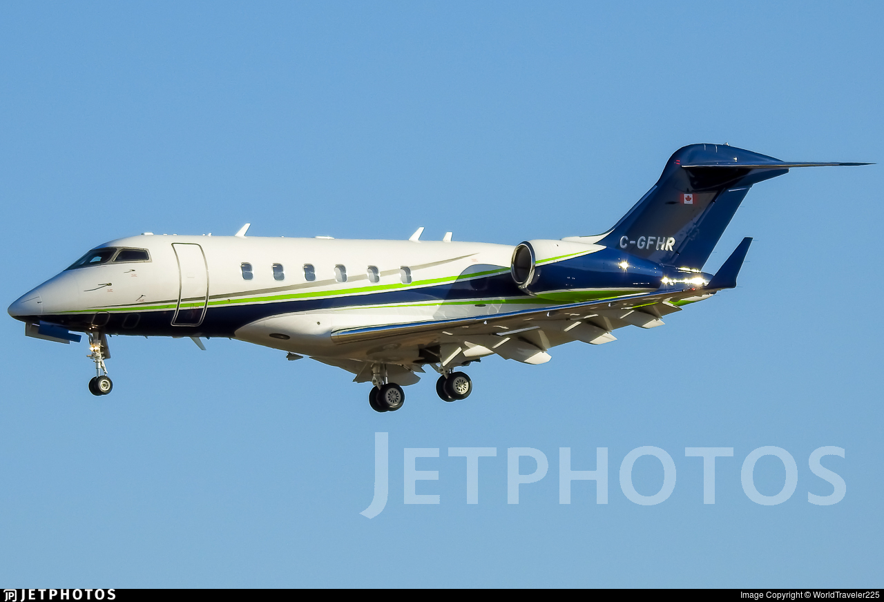 C-GFHR - Bombardier BD-100-1A10 Challenger 300 - Private