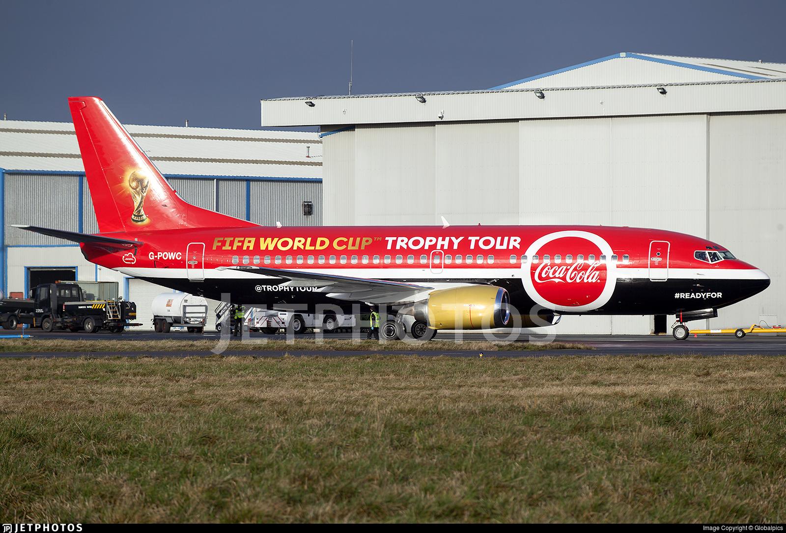 G-POWC - Boeing 737-33A(QC) - Titan Airways